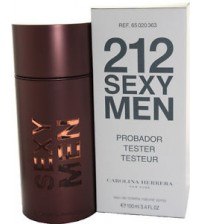 CAROLINA HERRERA	212 Sexy Men tester 100 ml