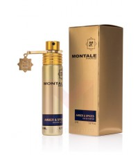 MONTALE AMBER & SPICES 20 ml license